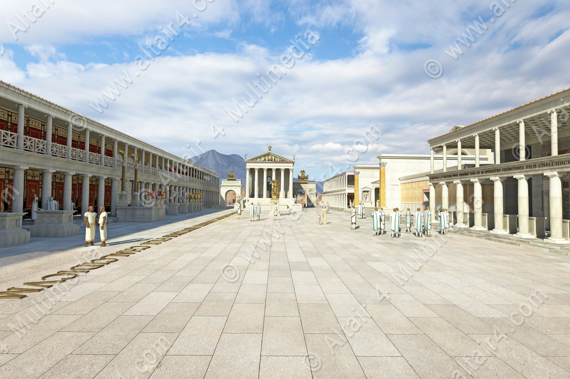 the forum pompeii Find out more about the history of pompeii, including videos, interesting articles, pictures, historical features and more get all the facts on historycom.