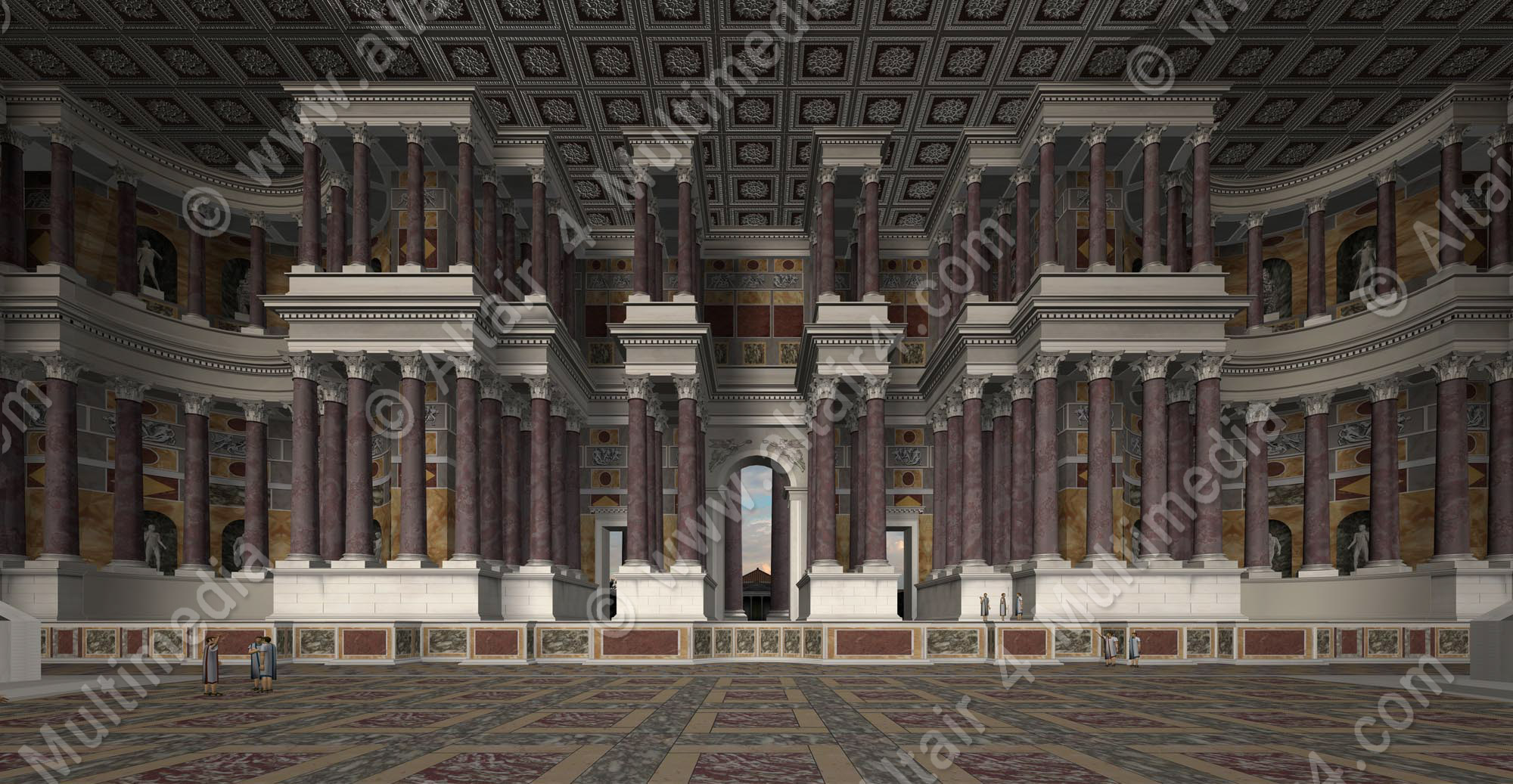 Theater of Pompey - Altair 4 EN