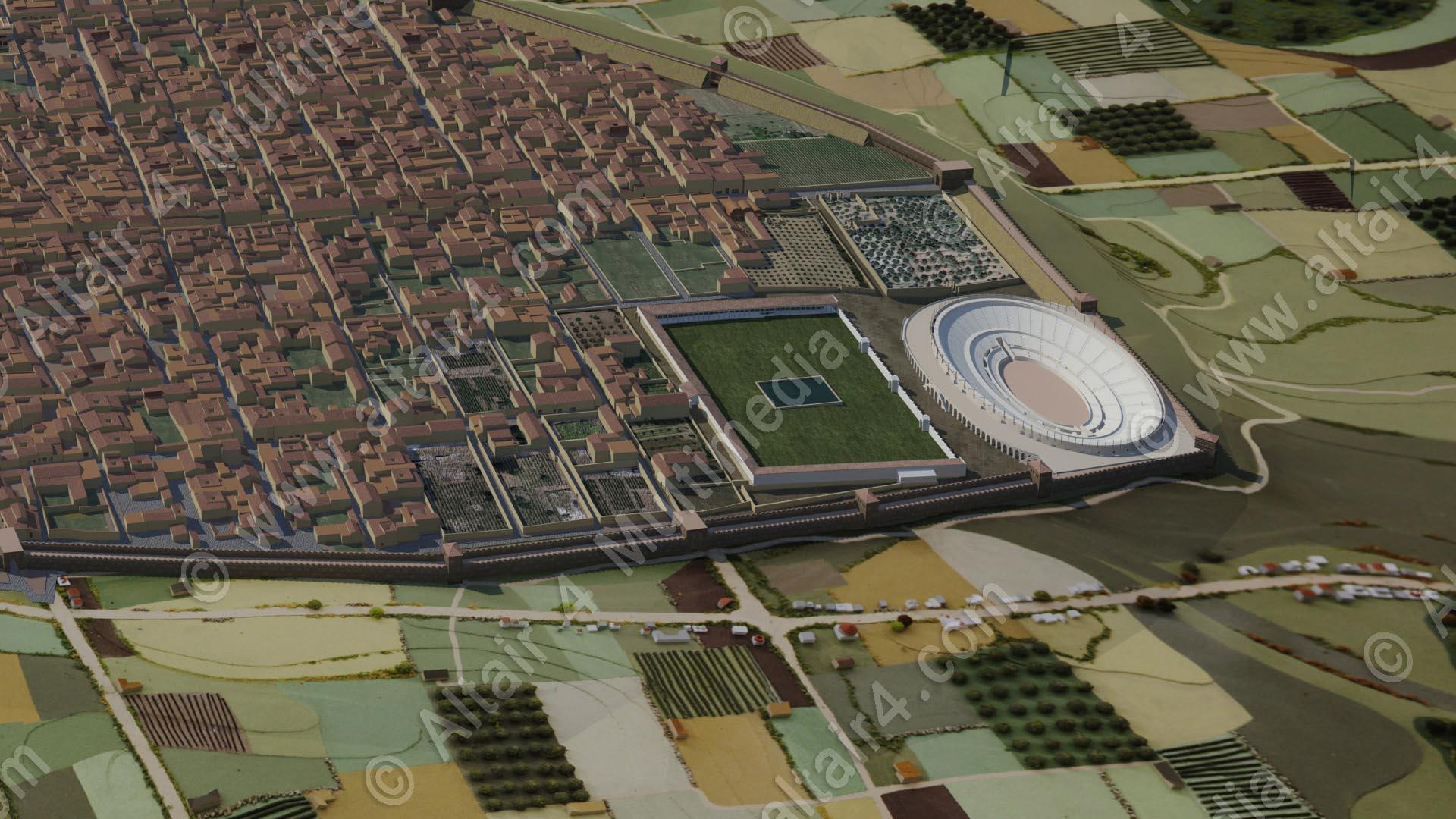 Anfiteatro di Pompei - Altair4 Multimedia